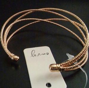 Women's Gold Tone Fashion Bracelet by Envy